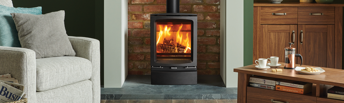 Timeless style with the Vogue Midi Wood Burning Stove