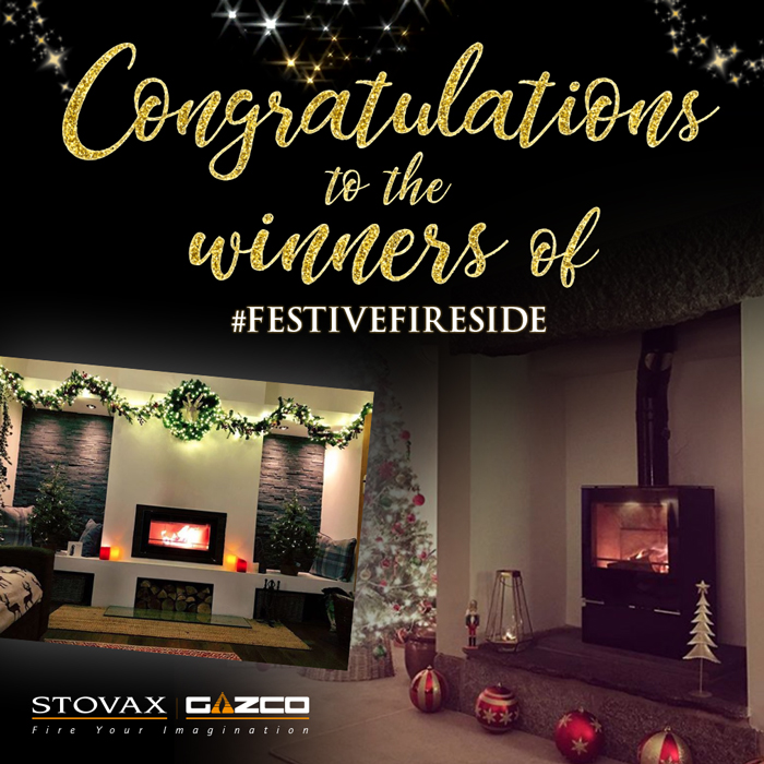 Winners of Festive Fireside 2018