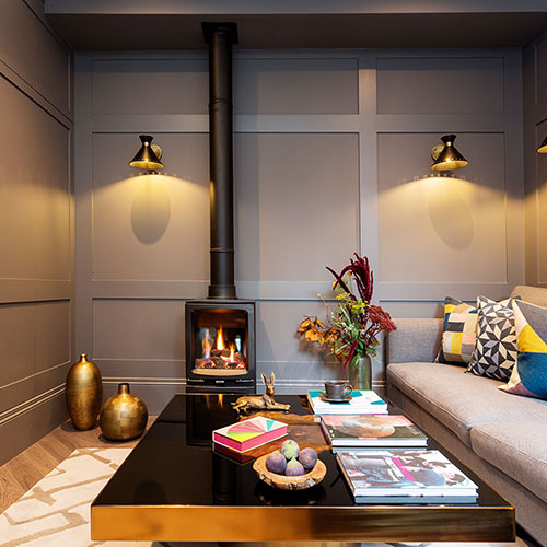 Zulufish choose Gazco Vogue Midi to complete sophisticated Edwardian villa in West London
