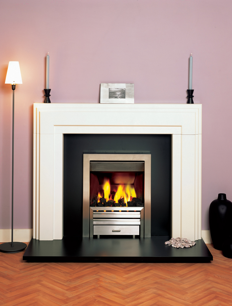 Stovax art deco wood mantel stovax mantels - Mantelpieces fireplaces ...
