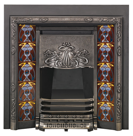 Art Nouveau Tiled Convector-lb