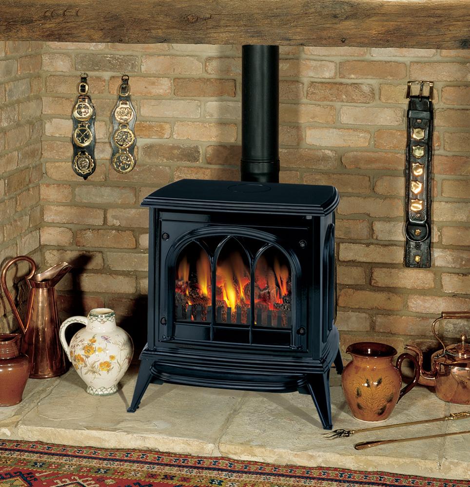 Gazco Stovax Ashdon Midnight Blue Enamel Gas Fire Ebay