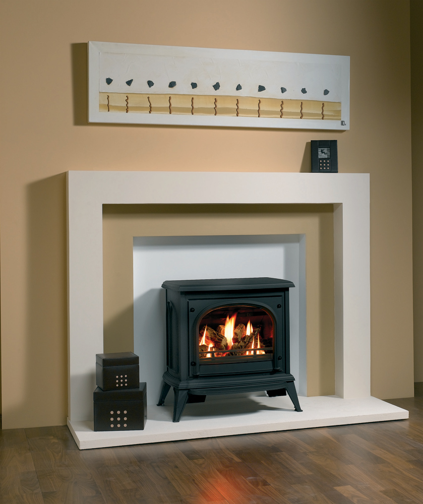 Ashdon Gas Stoves Clear Door Gazco Traditional Stoves