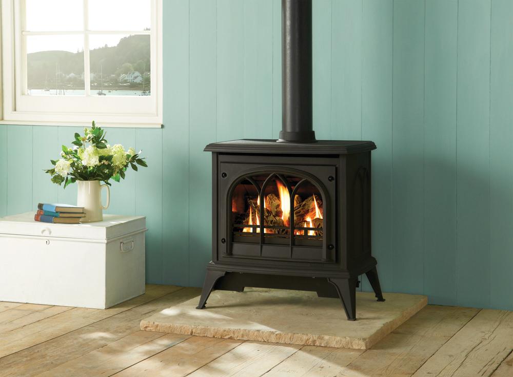 ashdon gas stoves tracery door gazco traditional stoves. Black Bedroom Furniture Sets. Home Design Ideas