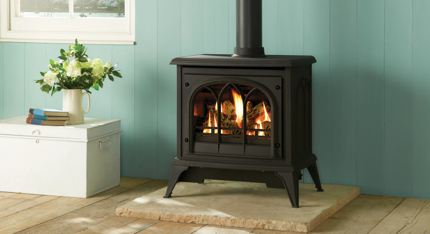 Ashdon Gas Stoves Tracery Door Gazco Traditional Stoves