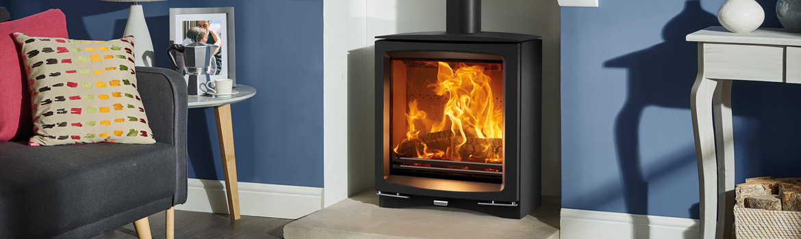 Stovax Slimline Stoves – Impressive flames without the extra heat