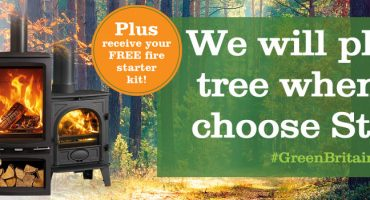 Stovax Heating Group partners with Certainly Wood for #GreenBritain campaign