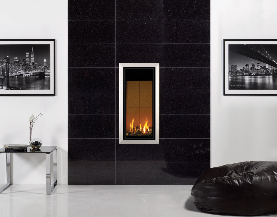 stovax black galaxy granite gazco stovax fireplace tile surrounds