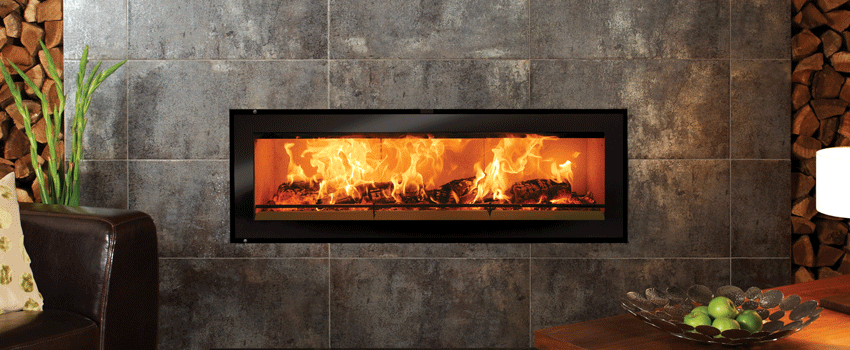 Studio 3 log burner