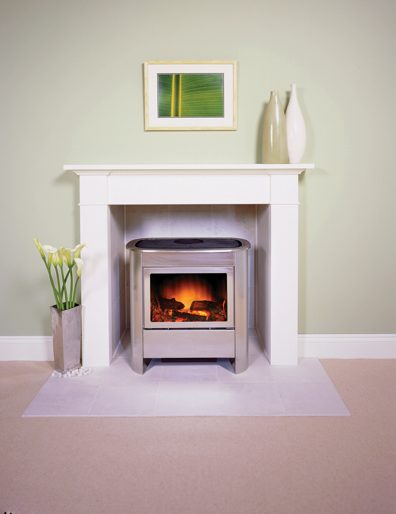 Stovax brompton wood mantel - Choosing the right white electric fireplace for you ...