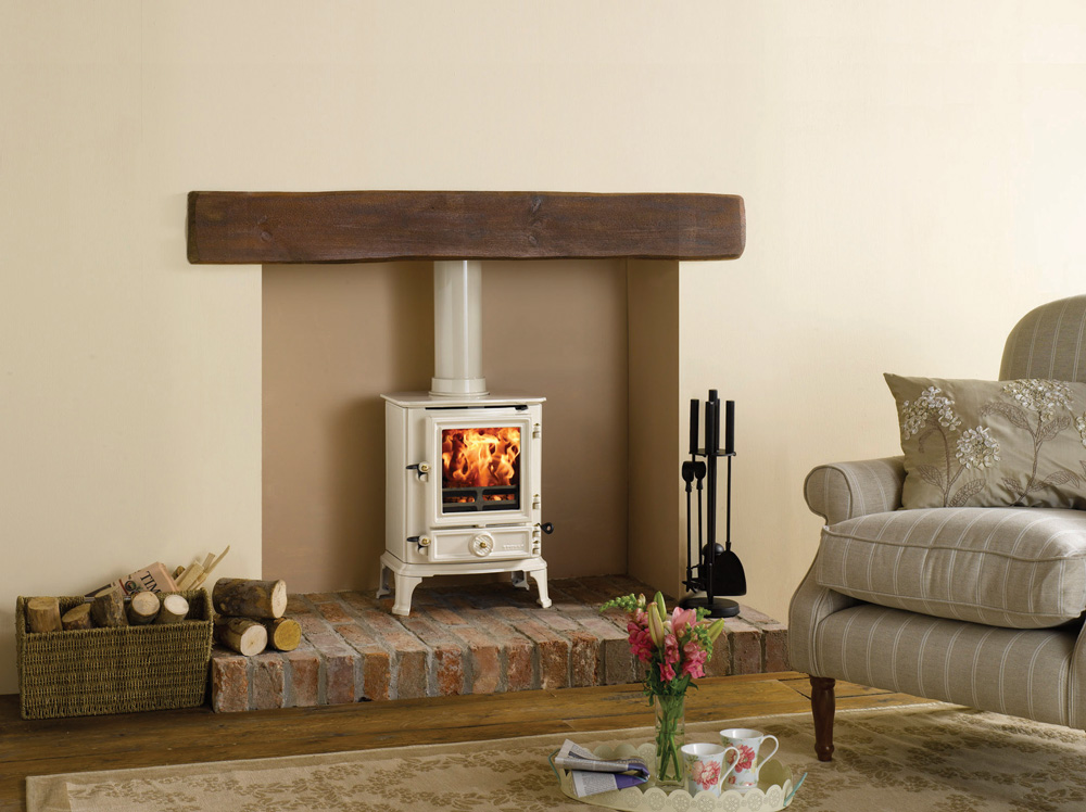 Brunel 1a wood burning stoves multi fuel stoves for Stove surrounds photos