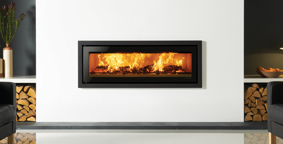 Built-in Wood Burning Fires