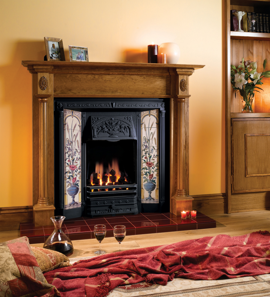 Glazed hearth tiles stovax classic fireplace tiles Fired tiles