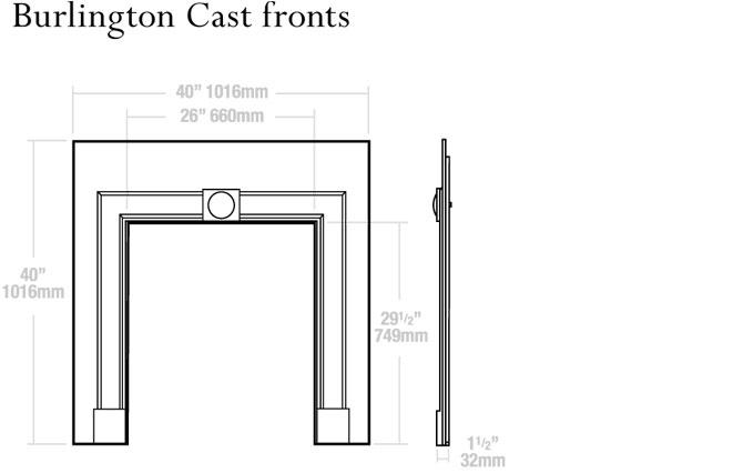 Burlington Dimensions