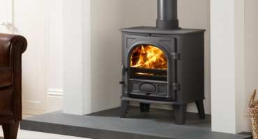 It's raining so get cosy indoors with a Stovax wood burner!