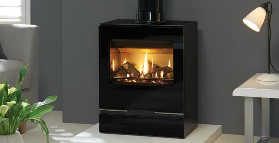 Contemporary gas stove
