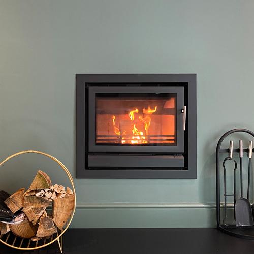 Laura, open plan living, Stovax Riva 66 wood burner
