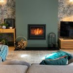 Laura, open plan living, Stovax Riva 66 wood burner