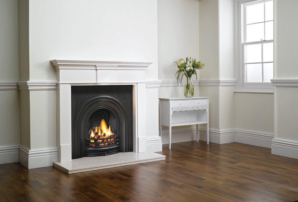 Decorative Arched Insert Fireplaces - Stovax Traditional ...