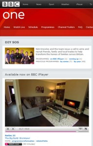 A Stovax Riva Studio 2 Glass wood burning inset fire featured heavily on BBC1's DIY SOS last night