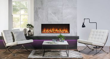 What's the difference between an eStudio and eReflex electric fire?