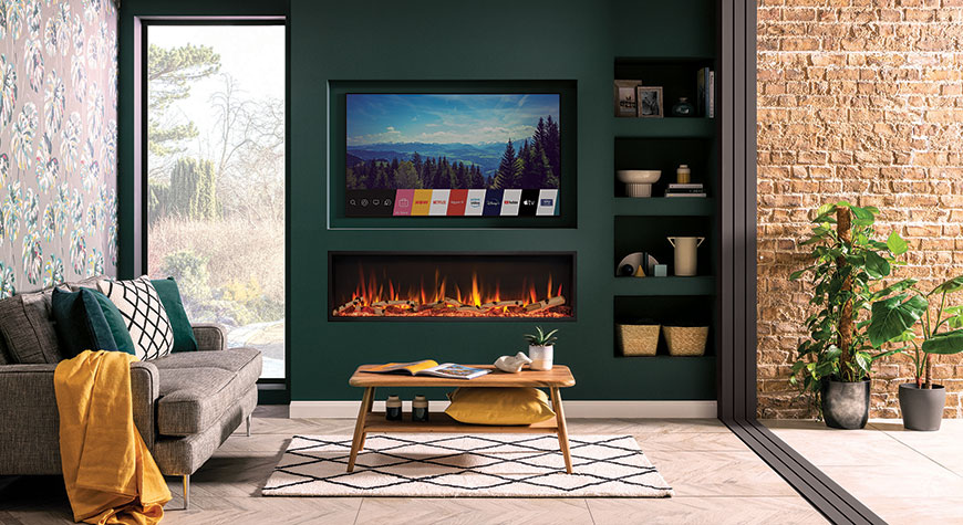 Gazco eStudio 135R Electric Fire