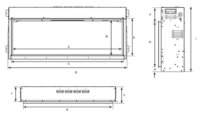 eStudio 105R Dimensions