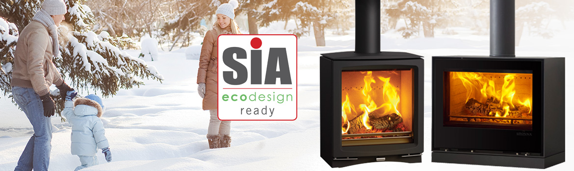 SIA Ecodesign Ready Wood burners