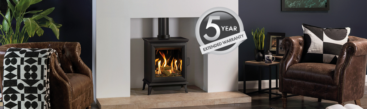Gazco Gas Stoves and Fireplaces 5 Year Extended Warranty