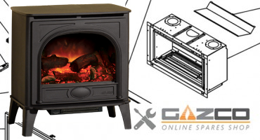Looking for a spare part for your gas fireplace?