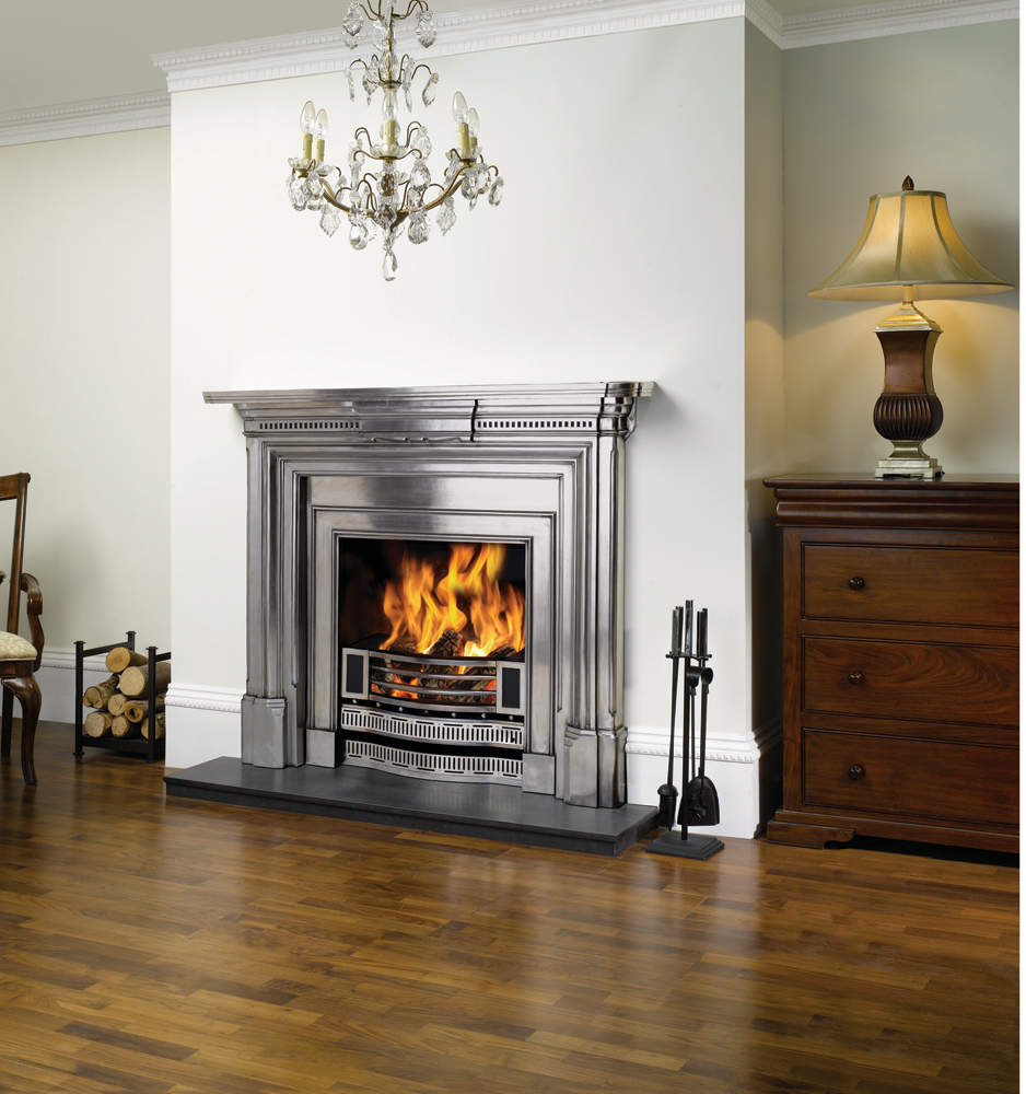 Stovax georgian cast iron mantel stovax mantels - Mantelpieces fireplaces ...