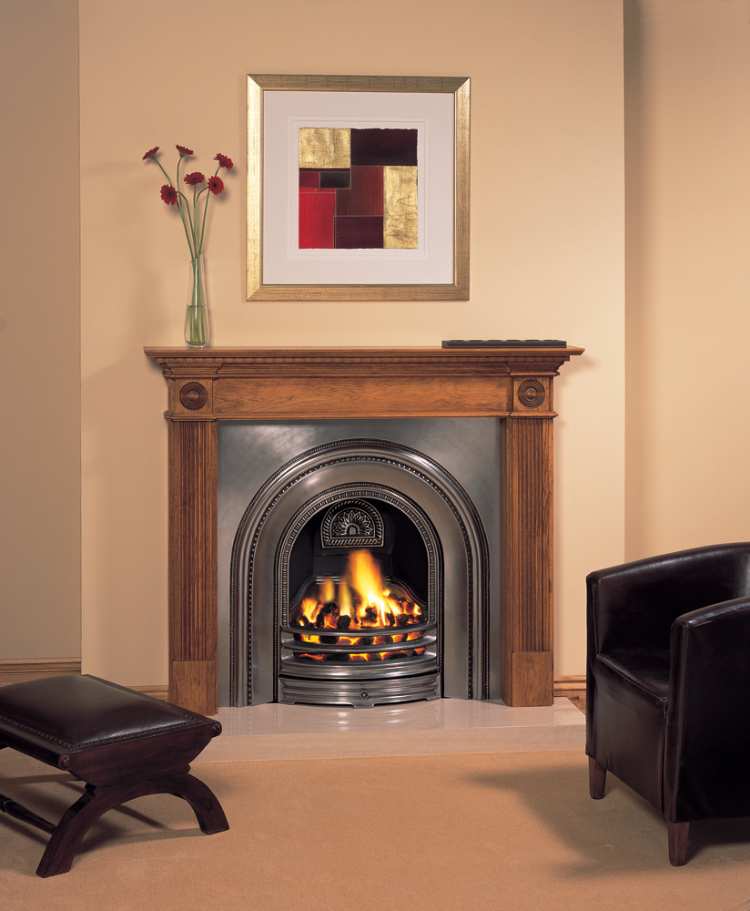Stovax georgian wood mantel stovax mantels - Mantelpieces fireplaces ...