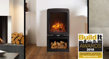 Shortlisted for Best Stove or Fire at the Build It Awards