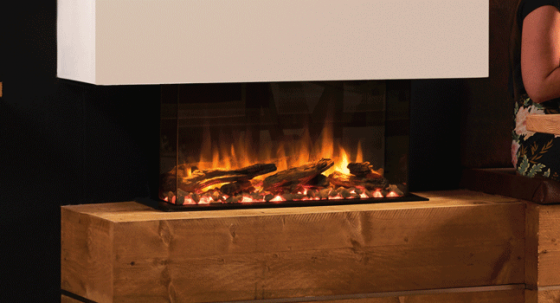 What are the benefits of an electric log burner?