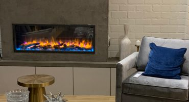 Gazco eReflex 105R electric fire features on Hollyoaks!