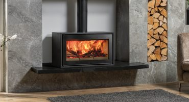 How to light a wood burning stove