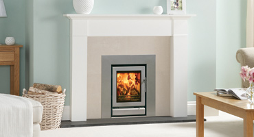 Hearth Mounted Multi-fuel Fires