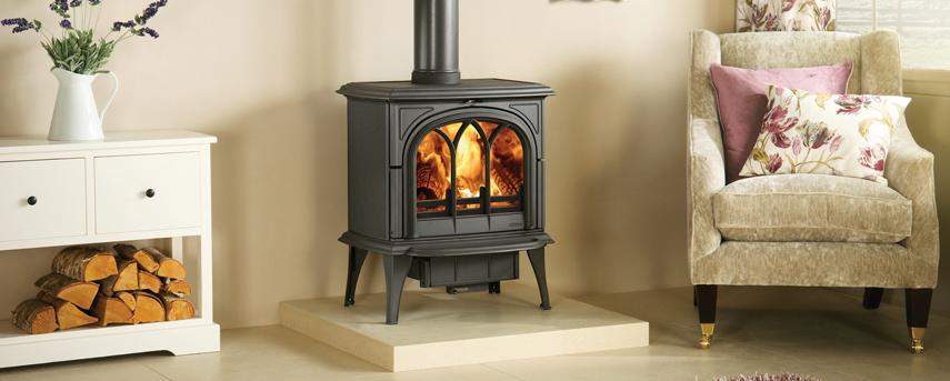 Huntingdon 40 burning wood