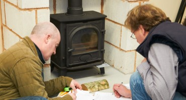 Installing your wood burning fireplace