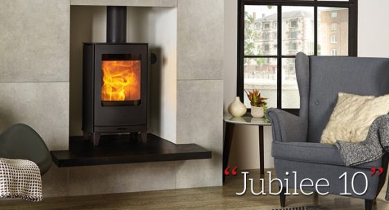 A New Nordic wood burning stove perfect for British homes!