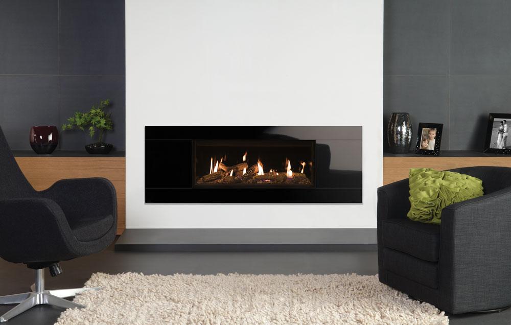 Studio Glass Gas Fires - Gazco Built In Fires ...