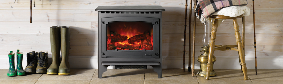 Marvelous Electric Wood Burner Part - 10: Traditional Electric Stoves - Stovax U0026 Gazco