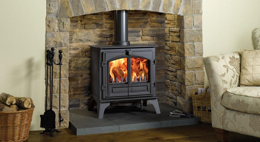 Riva Plus Large Wood Burning Stoves Amp Multi Fuel Stoves
