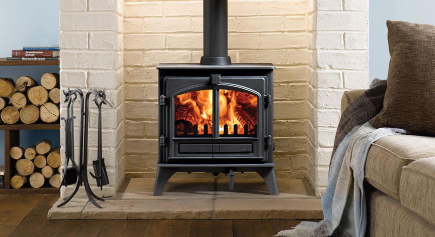 Riva Plus Medium Wood Burning Stoves Amp Multi Fuel Stoves
