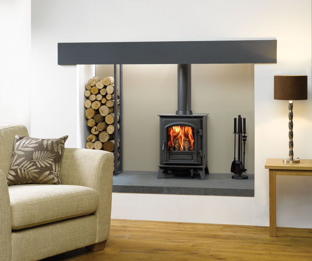 Riva Plus Small Wood Burning Stoves & Multi fuel Stoves