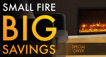 Radiance Electric Fire Promotion – Small Fire, Big Savings!