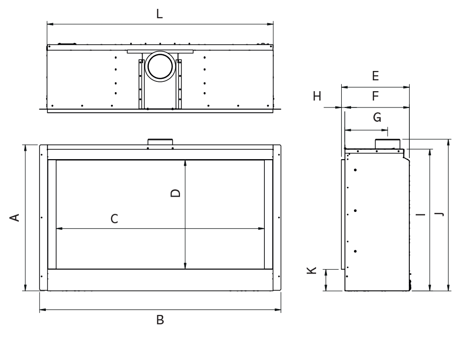 Reflex 105 Icon XS Dimensions