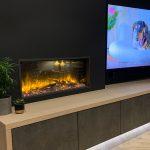 "Gazco eReflex 85R Electric fire – ""Gorgeous fire"""