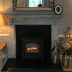 """Huntingdon 40 Electric stove – """"Looks gorgeous and brings the room to life"""""""
