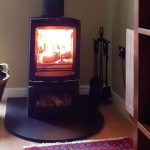 """Stovax Vogue Small Wood Burning Stove – """"How lovely to be able to have a real fire even though our house doesn't have a chimney"""""""